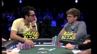 Wpt Five Diamond World Poker Classic: The Magician & Luckychewy