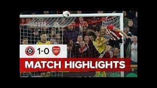 Sheffield United Vs Arsenal | Match Highlights | Premier League