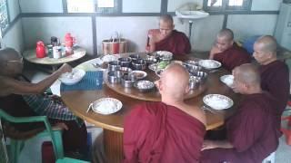 Lunch at Zabu Mingalar Monastery