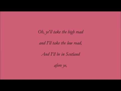 Loch Lomond (Accompaniment & Lyrics)