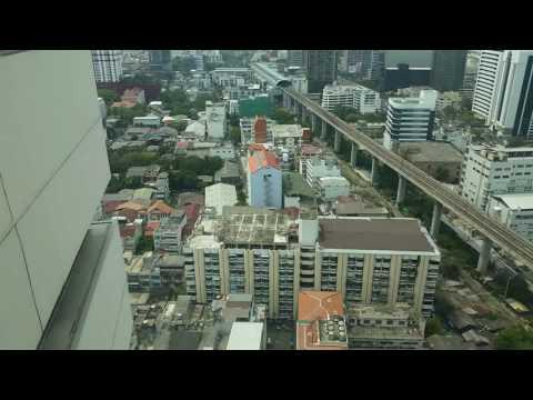 Стандартный номер в гостинице Байок Скай на 25 этаже. Бангкок, Таиланд.