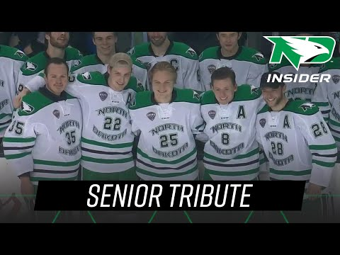 Senior Tribute | UND Hockey | 3/9/19