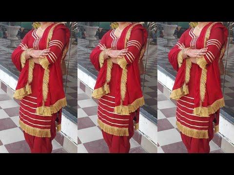 Lace Design On Salwar Suit 2020 || Punjabi Dress Design Idea || Fashion Tips