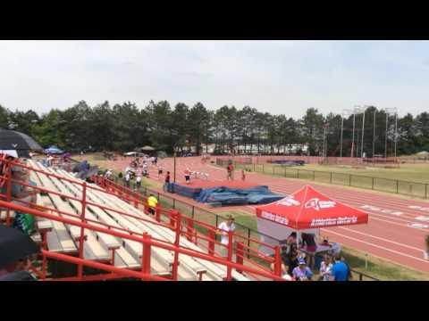 Men 800m Athletics Ontario Junior Championship 2016 heat 2