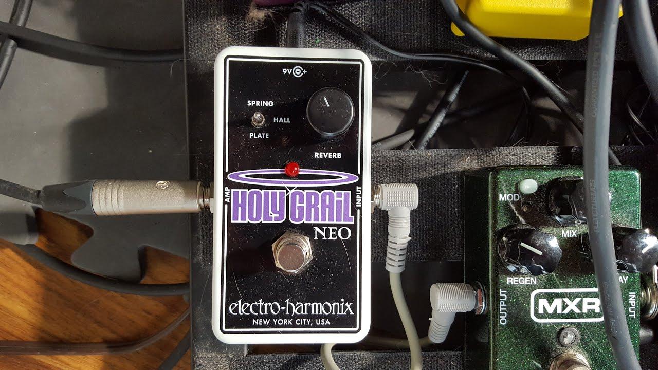 electro harmonix holy grail neo play through youtube. Black Bedroom Furniture Sets. Home Design Ideas