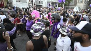 New Orleans Second Line Parade for Prince