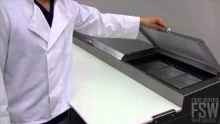 True Pizza Prep Table Video (tpp-93)