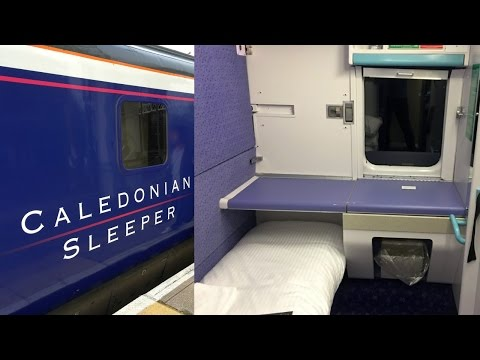 Caledonian Sleeper Train Inverness - London Euston