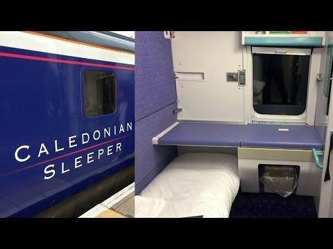 Caledonian Sleeper Train Inverness - London Euston