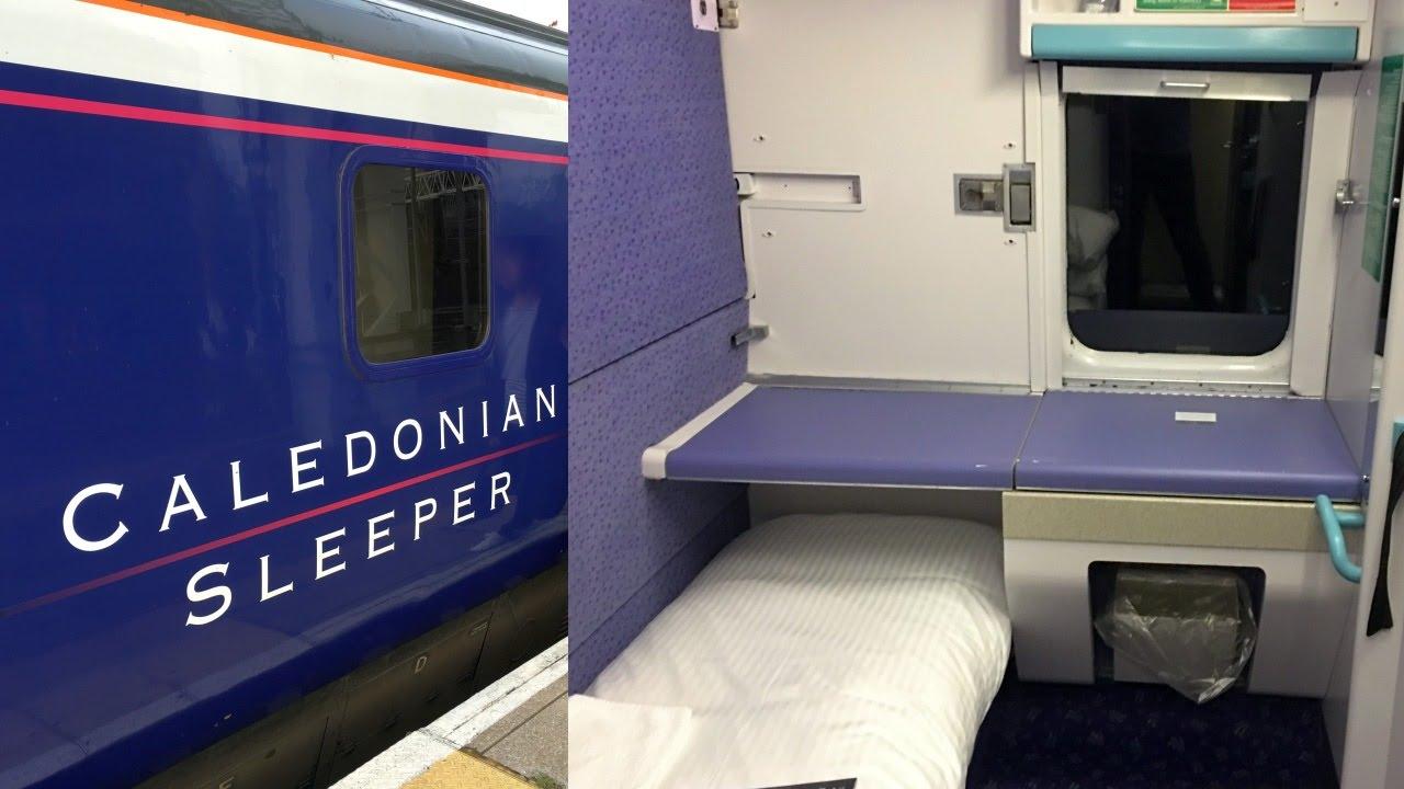 Caledonian Sleeper Train Inverness London Euston