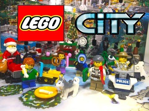 Лего Сити Обзор Новинки! Календарь 2015 с игрушками Unboxing Lego City AdventCalendar 2015 with toys