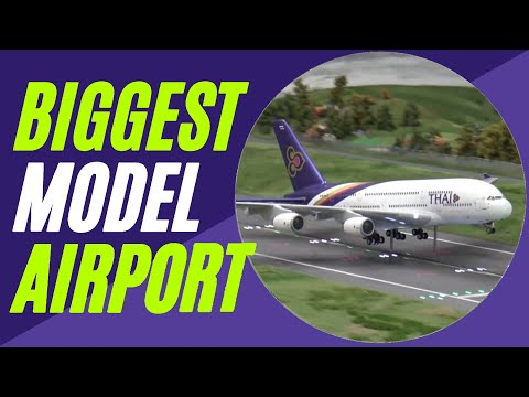 20+ Minutes of Plane Spotting @ World's biggest model airport | Miniatur Wunderland Hamburg