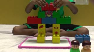 How To Build Robot By Mega Blocks - An Educative Activity For Kids