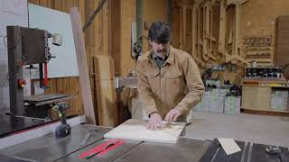How to make a table saw sled with Jory Brigham