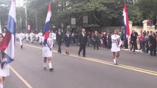Desfile 14 de Mayo Colegio Nacional de la Capital