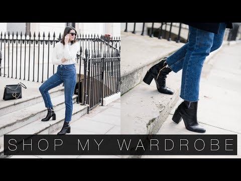 How To Shop Your Wardrobe & Five Autumn Outfits | The Anna Edit
