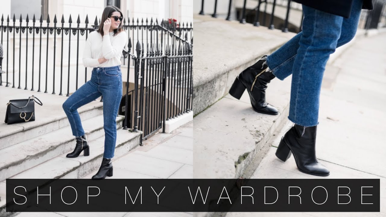 [VIDEO] - How To Shop Your Wardrobe & Five Autumn Outfits | The Anna Edit 4