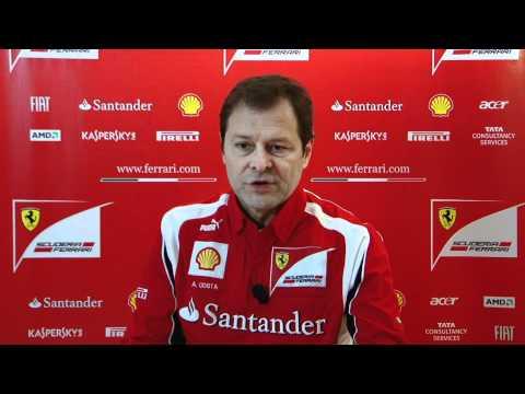 Presentación Ferrari F150 - Entrevista Aldo Costa