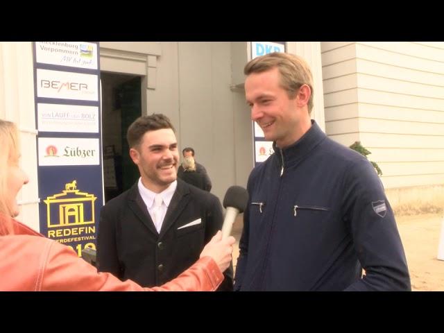 Felix Koller AUT und Patrick Stühlmeyer GER -  beide aus Mühlen