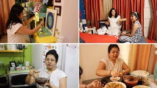 Simple Home Decor Tips & Ideas | It's Evening Chaat Time – Bengali Style Recipe | Maitreyee Passion