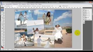Делаем коллаж из фотографий в Adobe Photoshop