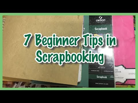 7 Tips For Scrapbook Beginners | Trip Down The Memory Lane Series #4