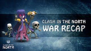 Clash of Clans | North Remembers vs The Swarm Random War Recap