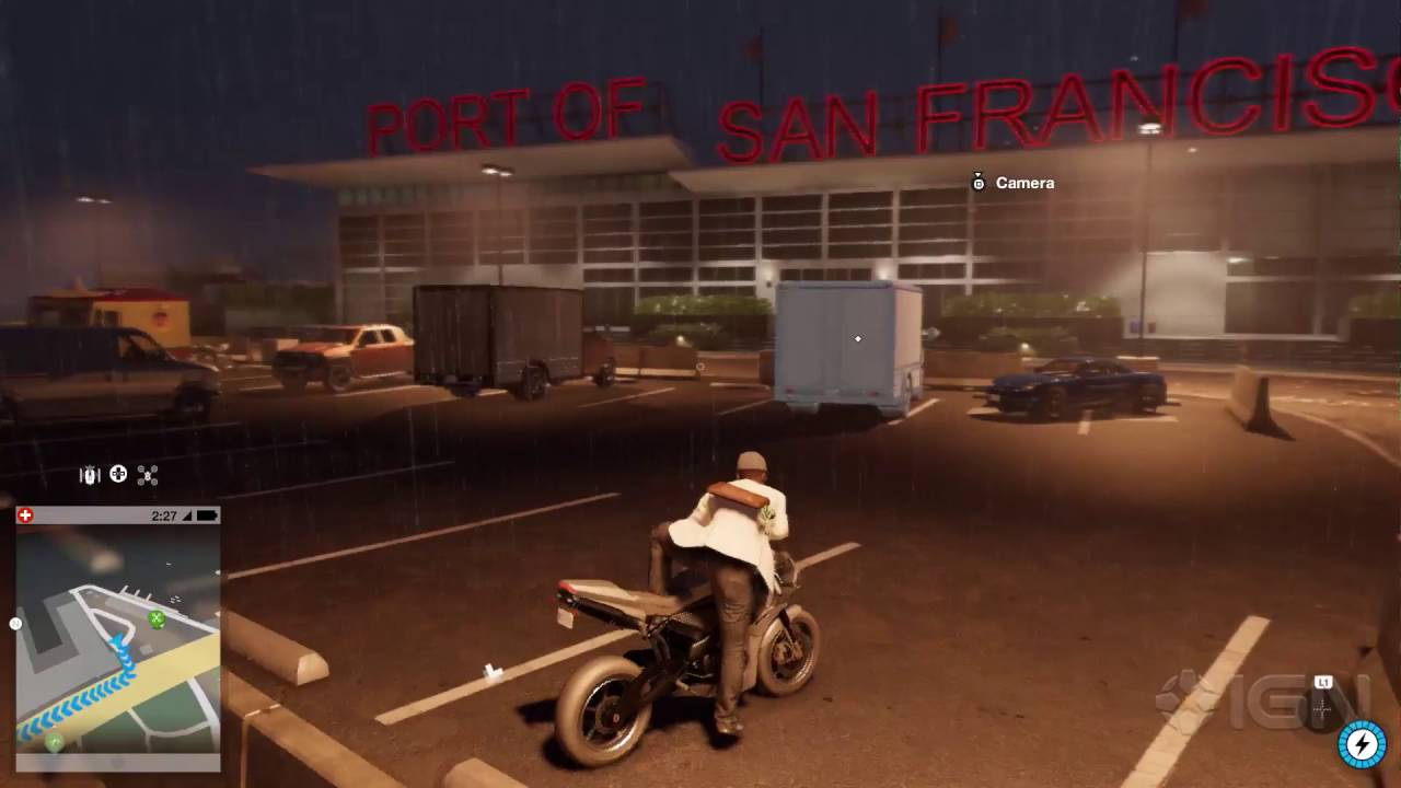 Watch Dogs 2 A Drone Race And A Motocross Accident