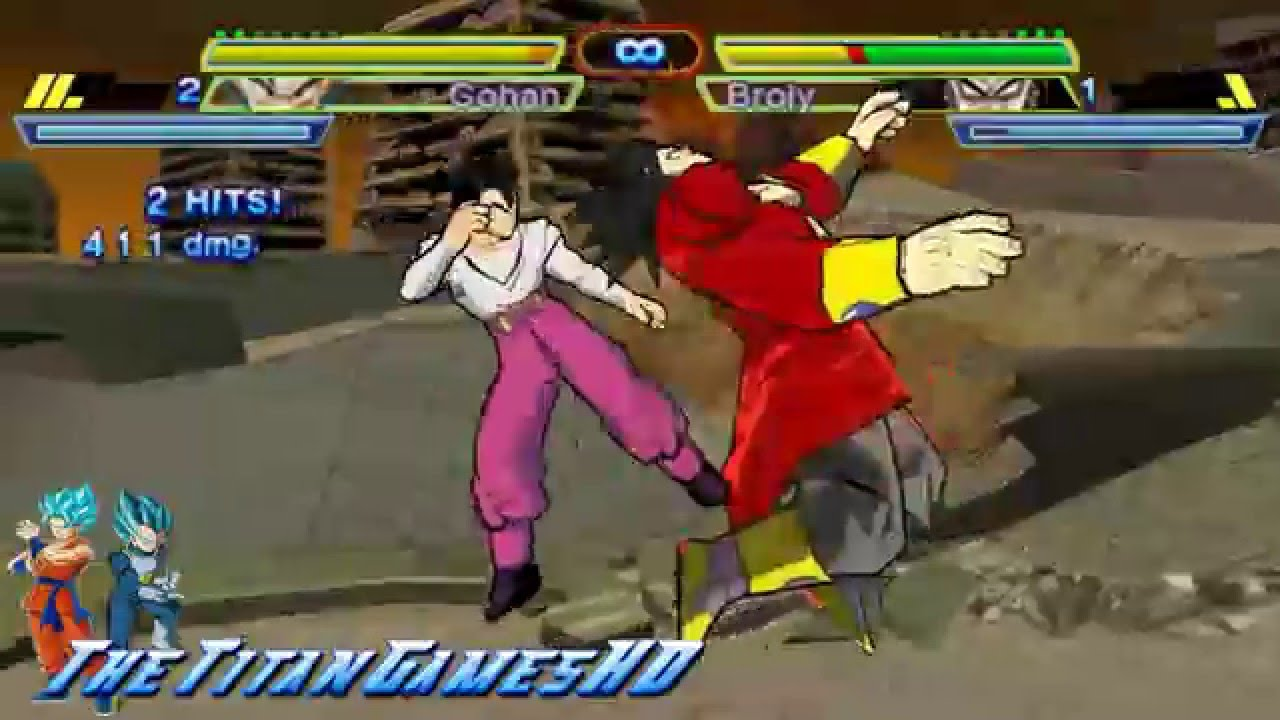Ppsspp Games Dragon Ball Z Shin Budokai 2 Mod | Gameswalls org