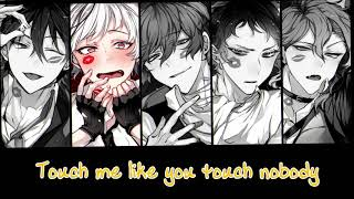 [Kiss and Make Up] Nightcore - Male Version