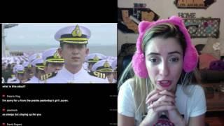เพลงสรรเสริญพระบารมี อลังการบนเรือหลวงจักรีนฤเบศร (Official) REACTION ✔