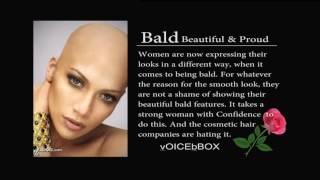 Beautiful Black Bald Women