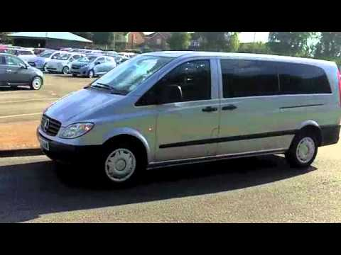 used mercedes benz vito diesel 2008 2 1 cdi travel line. Black Bedroom Furniture Sets. Home Design Ideas
