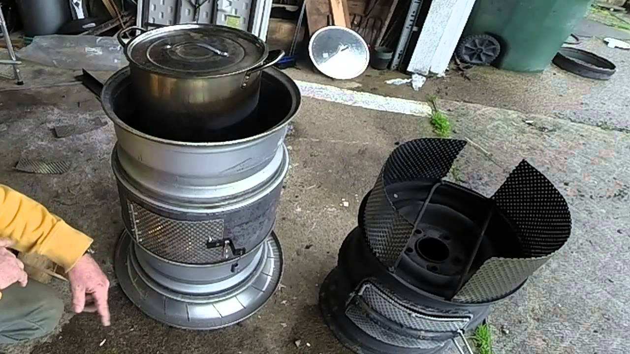 Truck Rim Stove Upgrades Youtube