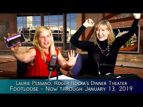 """Laurie Pessano talks Roger Rocka's """"Footloose"""" & Good Company Players """"Good Company for Christmas"""""""