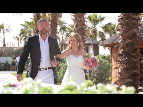 Wedding at Beach/ Regnum Carya Golf&SPA Resort Hotel