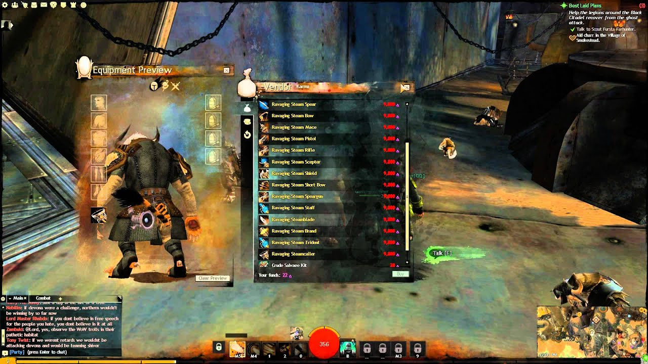 Guild Wars 2 - Charr Cultural Weapons & Location