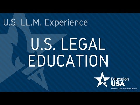 U.S. Legal Education (EdUSA Webinar)
