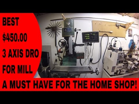 Best 3 AXIS DRO for milling machine digital readout 2014 SINPO