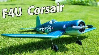 tower hobbies f4u corsair unboxing first impressions brushless rc plane thercsaylors
