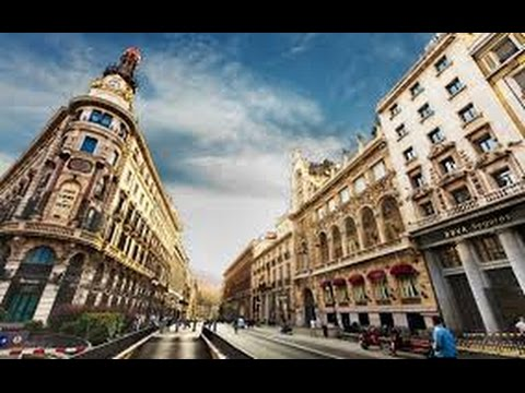Walking Around Madrid, Spain