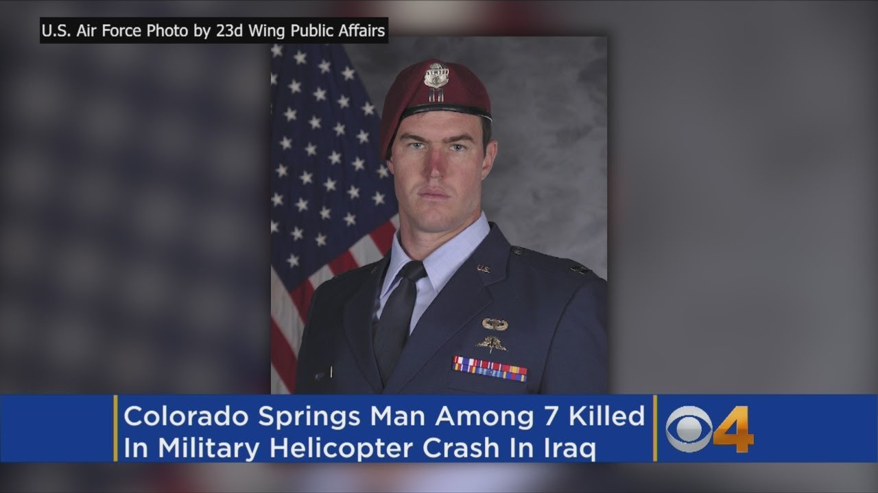 Airman From Colorado Among The 7 Killed In Iraq Helicopter Crash