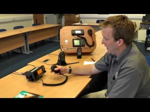 How to make a VHF call on a Marine radio