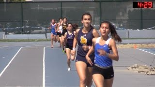 2016 Track - California Relays 1600M Girls Invitational Race