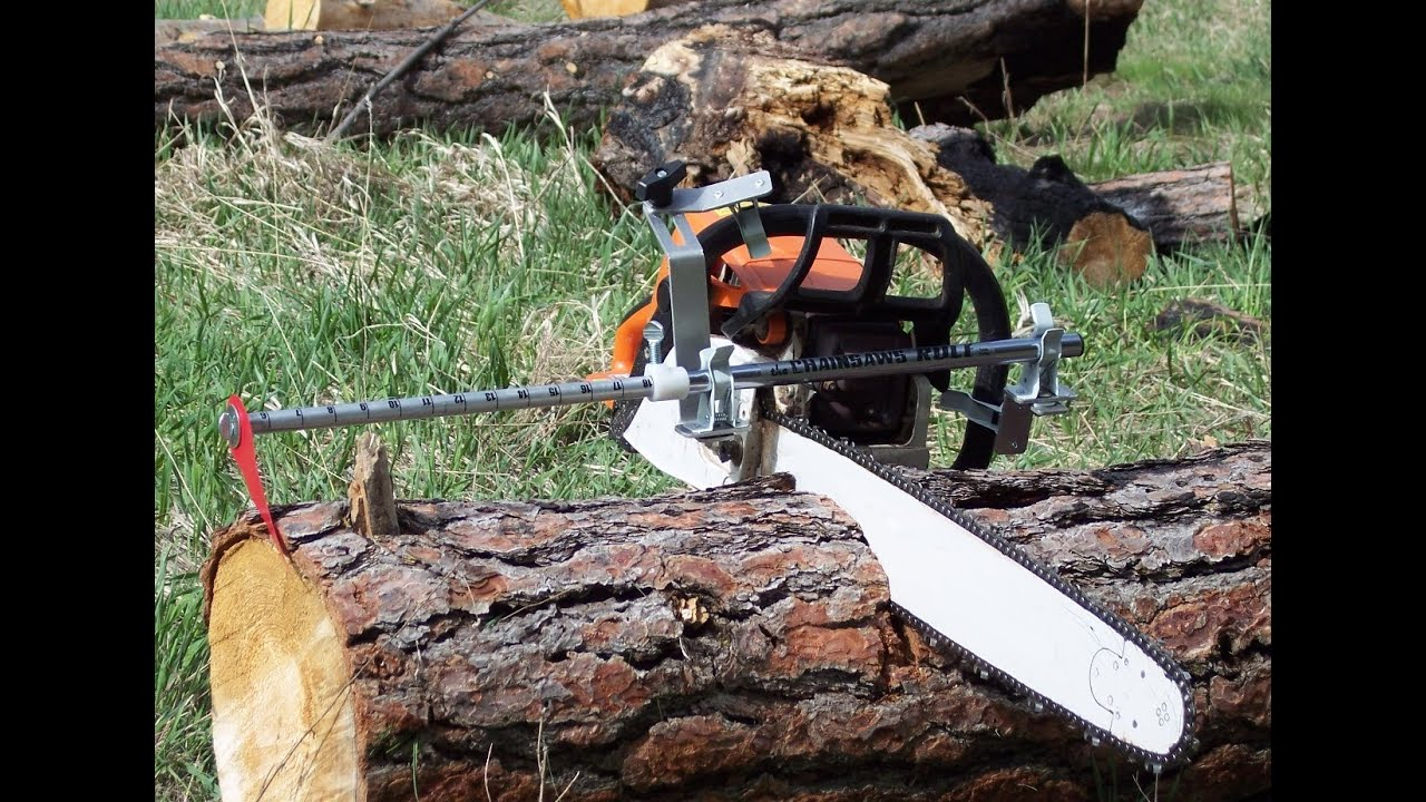 Getting Firewood Chainsaw Measuring Tool No Marking