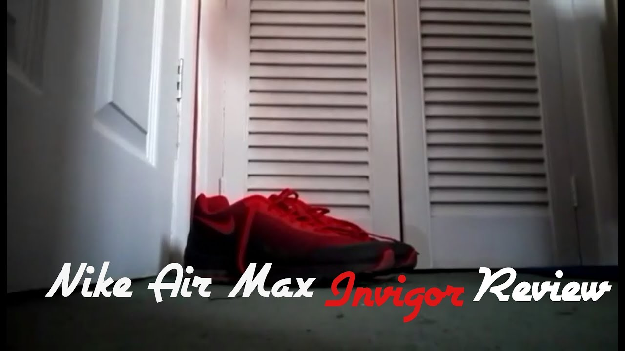 ... nike air max invigor review youtube