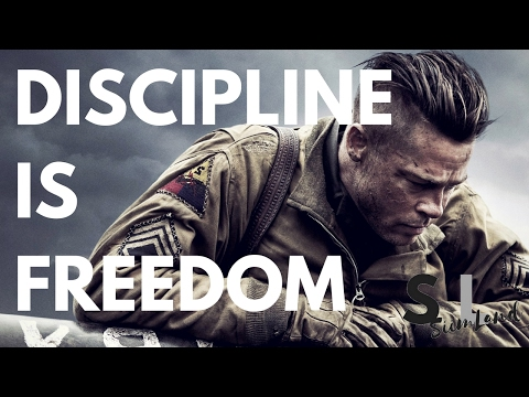 Discipline Is Freedom, the Freedom to Live (Discipline Motivation Video / How to Become Disciplined)
