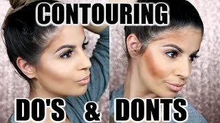 CONTOURING DO'S AND DONTS  | Laura Lee