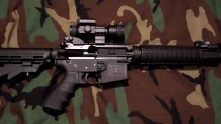 Plum Crazy AR-15 Lower, Double Star Lightweight upper - My lightweight AR-15 Review and shooting