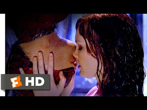 Spider-Man Movie (2002) - Upside-Down Kiss Scene (6/10) | Movieclips